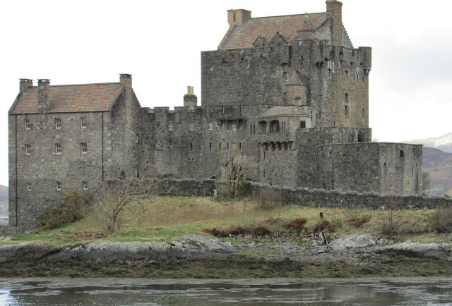Eilean Donan Castle, Scotland, Public Domain