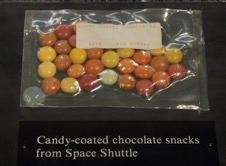 Metadata: not just any snack, this one was in space!