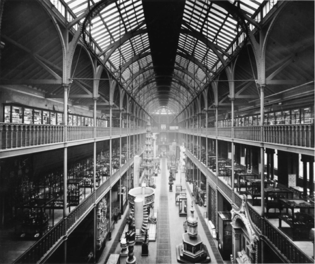 The Main Hall of the Edinburgh Museum of Science and Art, (1880). Courtesy of National Museums of Scotland.