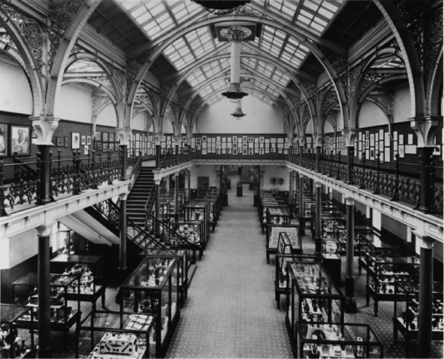 The Industrial Hall, Birmingham City Museum and Art Gallery, (1893). Courtesy of Birmingham Museums and Art Gallery.